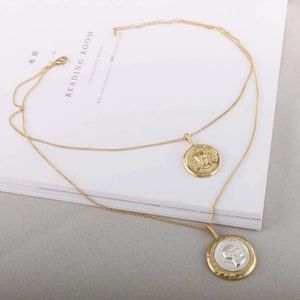 Jewelry - NEW Double layer heavy coin necklace